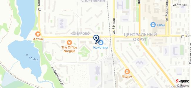 Розничный магазин на карте