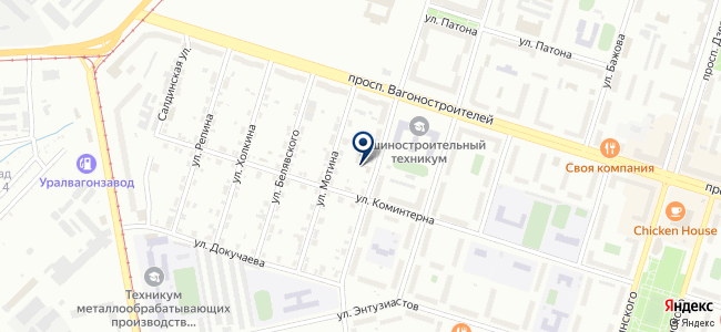 ОСР, ООО на карте