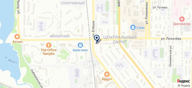 Потолки Макси на карте