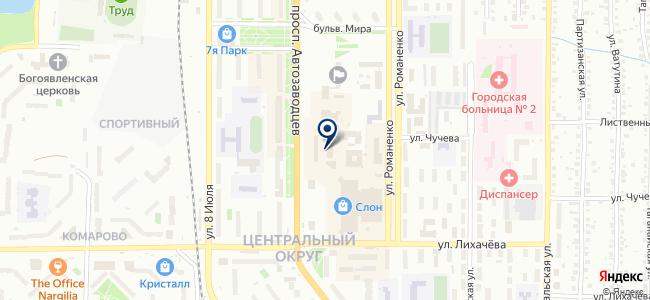 АН-Лайт на карте