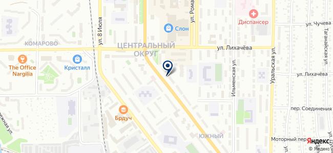 Дело Техники на карте