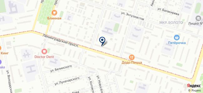 Велком, магазин светотехники на карте