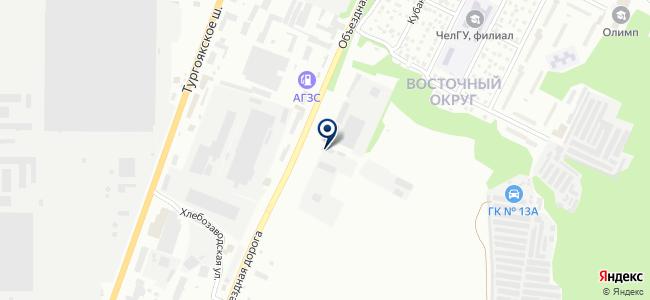 КРИСТАР на карте