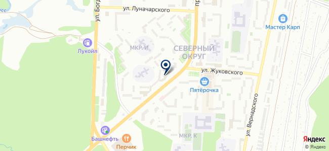 Нарион на карте
