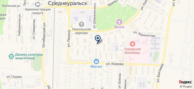 Телеграф на карте