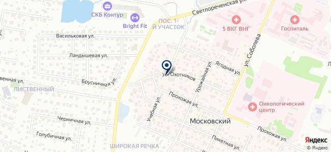 ВЕСЫ, ЗАО на карте