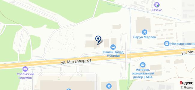 MODA DOMA на карте