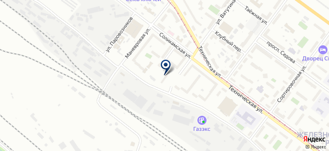 Техник, ООО на карте