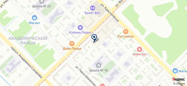 Люстамир на карте