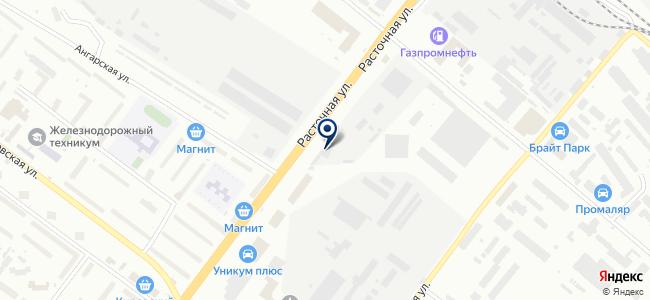 Элвис, ООО на карте