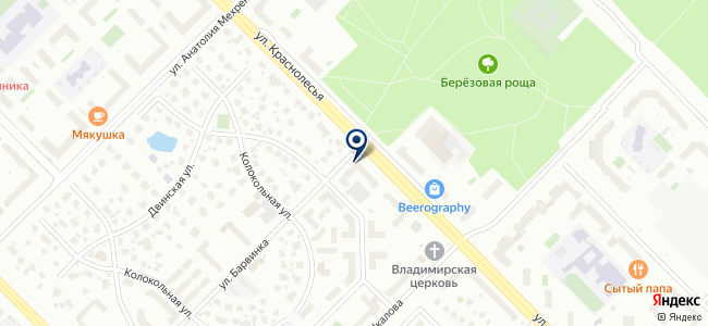 Крепкие связи на карте