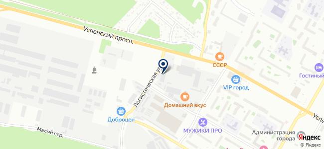 Ланкор на карте