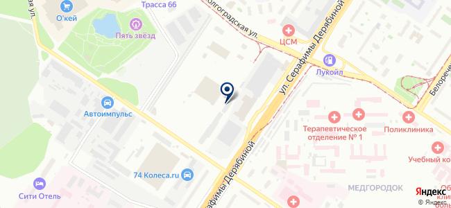Новати, ООО на карте