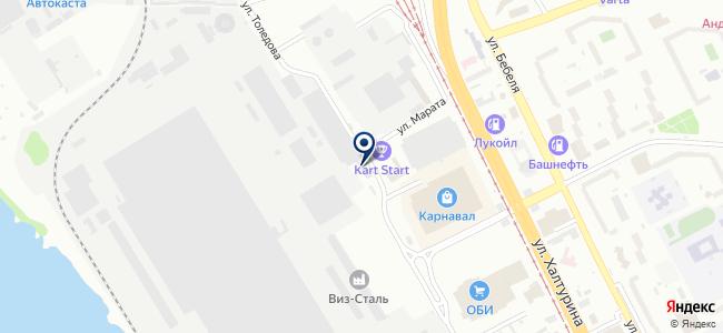 Stinger-Ural на карте