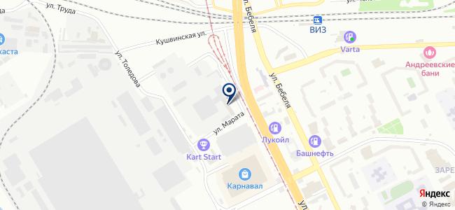 Верт-Сервис, ООО на карте
