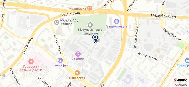 Уралредуктор, ООО на карте