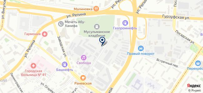 Уралстрой, ООО на карте