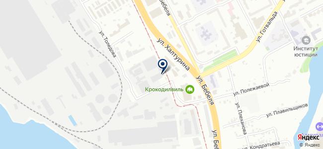 Авторитет-М на карте