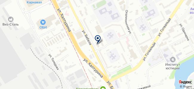 Баумастер на карте