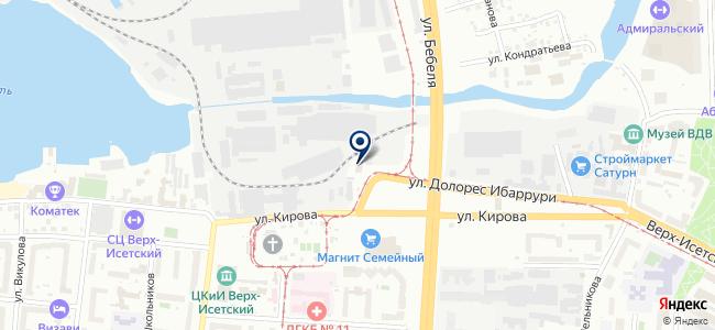 Энергон-Урал, ООО на карте
