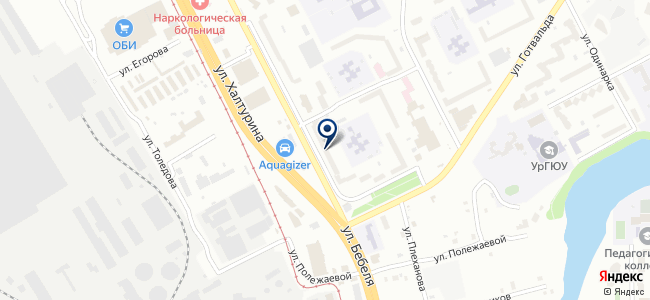 НовоЭль, ЗАО на карте