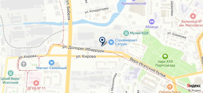 Мит-Сервис, ООО на карте