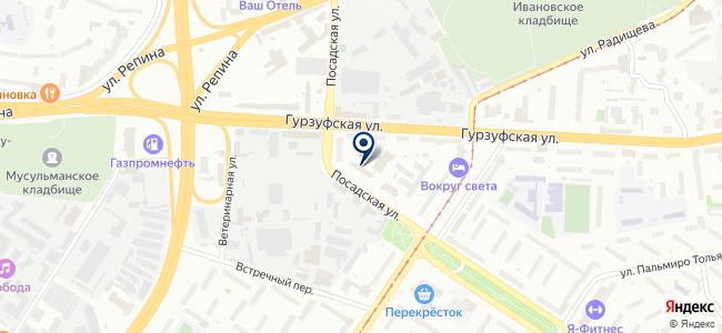 Энергобаза, ЗАО на карте