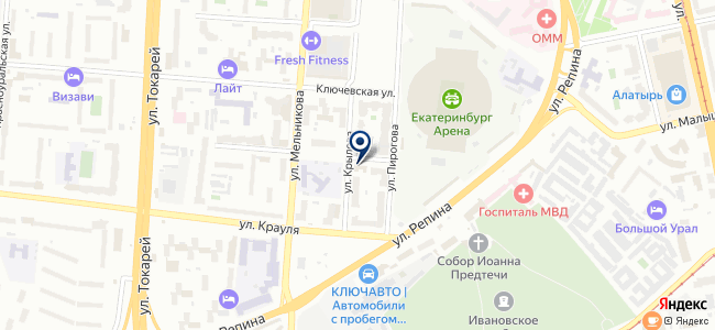 Агора, ООО на карте
