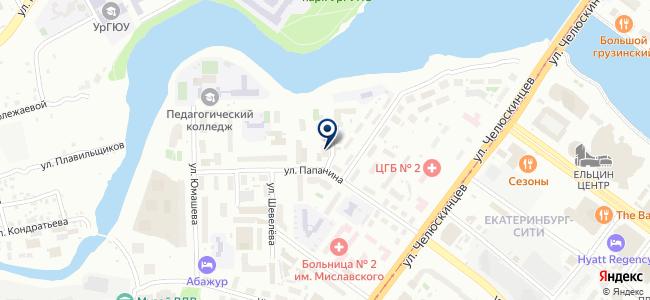 Дакар, ООО на карте