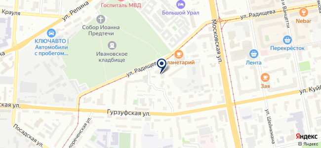Режевской кабельный завод, ЗАО на карте