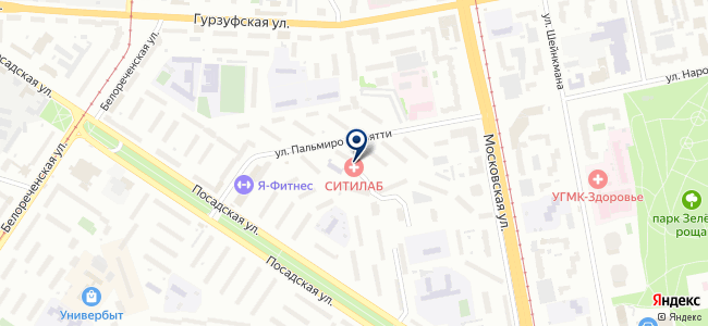 УралИнПром, ЗАО на карте