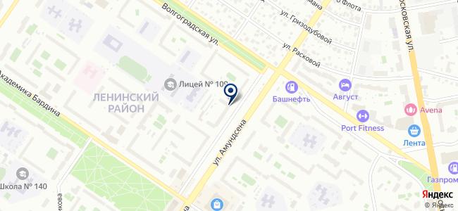 Азиэл, ООО на карте