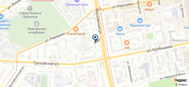 ФлайАудио, ООО на карте