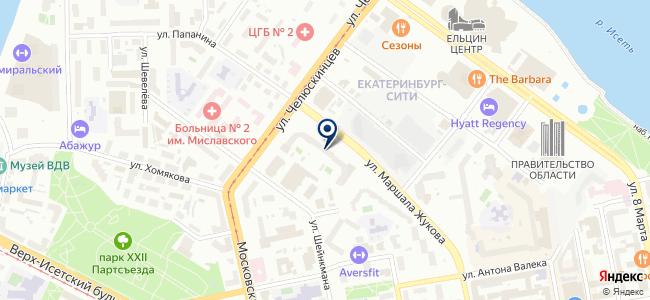 Клинкманн СПб, ЗАО на карте