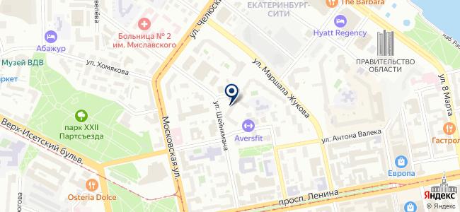 НПК на карте