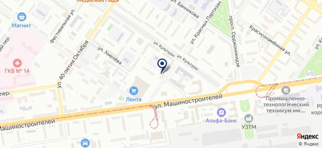 Компания ЭКГ-Лидер, ООО на карте