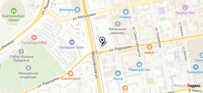 Шнейдер Электрик, ЗАО на карте