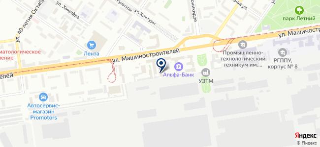 ПромТеплоТех, ООО на карте