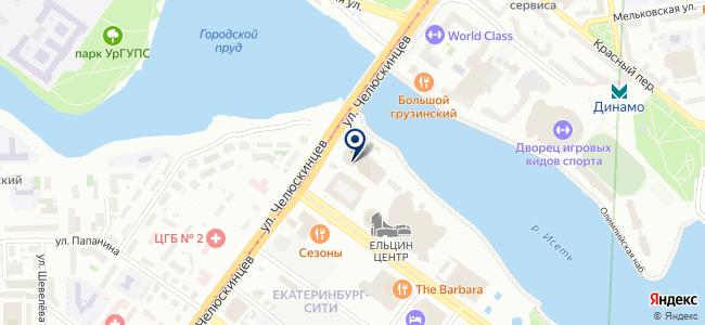 Модуль, ООО на карте