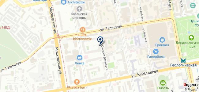 Электроуралналадка, ООО на карте