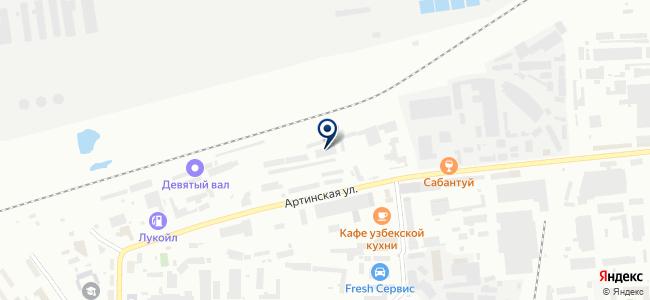 УЭТК на карте