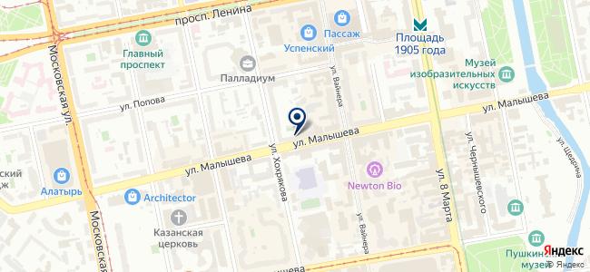 Bohemia Studio на карте