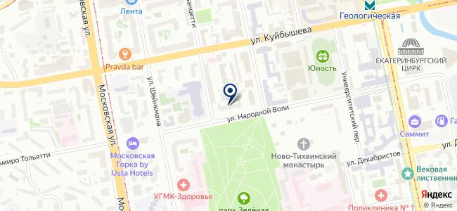 Электролаборатория на карте