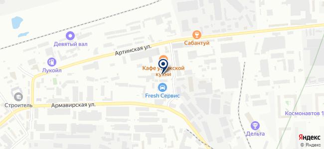 Торговая Компания ПромСнаб, ООО на карте