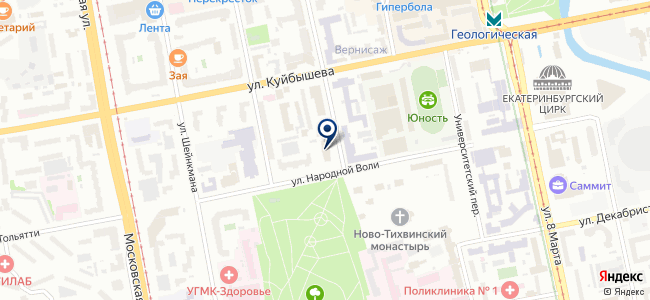 Сириус АТМ, ООО на карте