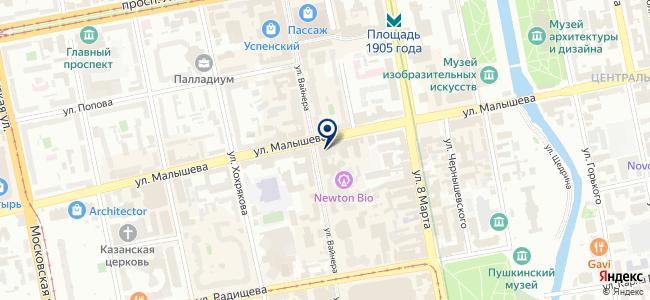 Вольт, ООО на карте