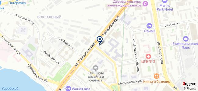 Центр технического света, ООО на карте