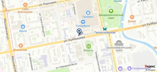 Сектор Плюс, ЗАО на карте