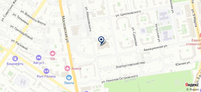 Сарос Проект, ООО на карте