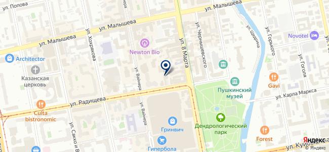 Миландр, ЗАО на карте